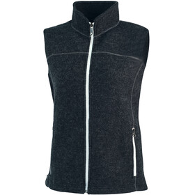 Ivanhoe of Sweden Beata Vest Women graphite marl